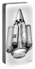 Rombus Heavey Lift Reusable Rocket Portable Battery Charger