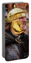 Enforcing The Will Of Rome Portable Battery Charger