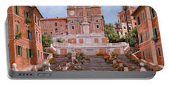 Rome-piazza Di Spagna Portable Battery Charger