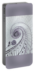 Portable Battery Charger featuring the drawing Romeo And Juliet by Elly Potamianos