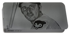 Ron Santo Portrait Portable Battery Charger