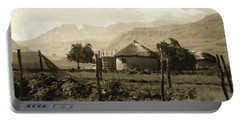 Rondavel In The Drakensburg Portable Battery Charger