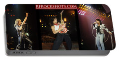 Ronnie James Dio, Eddie Van Halen And Steve Perry Portable Battery Charger