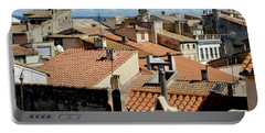 Roofs Of Arles Portable Battery Charger