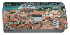 Rooftops Of Kotor  Portable Battery Charger