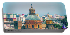 Portable Battery Charger featuring the photograph Rooftops Of Seville - 1 by Mary Machare
