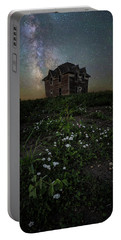 Portable Battery Charger featuring the photograph Room With A View by Aaron J Groen