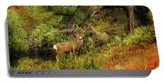 Roosevelt Deer Portable Battery Charger