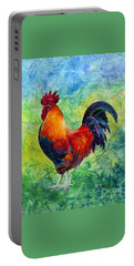 Rooster 2 Portable Battery Charger by Hailey E Herrera