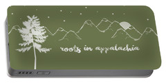 Roots In Appalachia Portable Battery Charger by Heather Applegate
