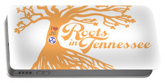 Portable Battery Charger featuring the photograph Roots In Tn Orange by Heather Applegate