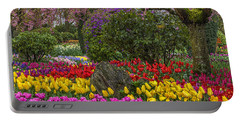 Roozengaarde Flower Garden Portable Battery Charger
