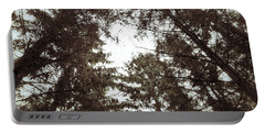 Rorschach Trees Portable Battery Charger by Karen Stahlros