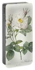 Rosa Alba Foliacea Portable Battery Charger