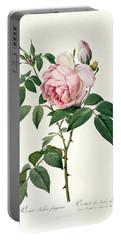 Rosa Chinensis And Rosa Gigantea Portable Battery Charger
