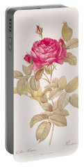 Rosa Gallica Pontiana Portable Battery Charger