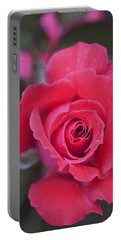 Rose 160 Portable Battery Charger by Pamela Cooper