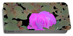 Rose 97 Portable Battery Charger by Pamela Cooper