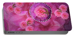 Rose Art A Rose Is Given With Love Portable Battery Charger