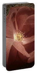 Rose Portable Battery Charger by Chris Berry
