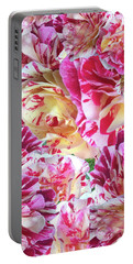 Rose Collage Portable Battery Charger