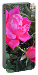 Rose Duet Portable Battery Charger