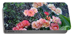 Portable Battery Charger featuring the photograph Rose Garden by Sadie Reneau
