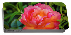 Rose In The Evening Portable Battery Charger
