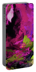 Rose Magenta Portable Battery Charger