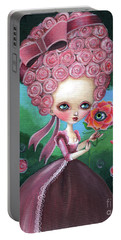 Rose Marie Antoinette Portable Battery Charger