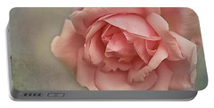 Rose New Dawn Portable Battery Charger by Jacqi Elmslie