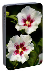 Portable Battery Charger featuring the photograph Rose Of Sharon by Christina Rollo