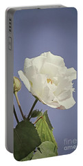 Portable Battery Charger featuring the photograph Rose Of Sharon by Elaine Teague