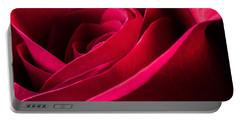 Rose Of Velvet Portable Battery Charger