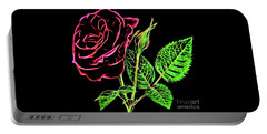 Rose The Beautiful 16218 Portable Battery Charger