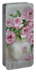 Rose Vase Portable Battery Charger