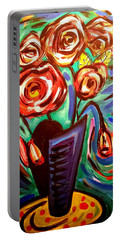 Rose Vibes Portable Battery Charger