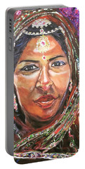 Roseanne Kala - True Colors Portable Battery Charger by Belinda Low