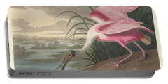 Roseate Spoonbill, 1836  Portable Battery Charger