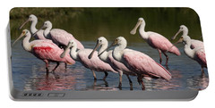 Roseate Spoonbills Portable Battery Charger