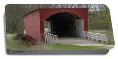 Roseman Covered Bridge - Madison County - Iowa Portable Battery Charger