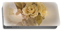 Roses And Butterfly Posy  Portable Battery Charger