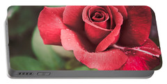 Portable Battery Charger featuring the photograph Roses Are Red by Parker Cunningham
