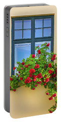 Roses Decorating A House Portable Battery Charger