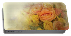 Roses For Mother's Day Portable Battery Charger by Eva Lechner