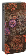 Roses In Time Portable Battery Charger