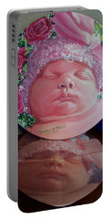Rosey Little Babe Portable Battery Charger by Ruanna Sion Shadd a'Dann'l Yoder