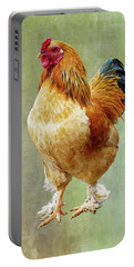 Otis T Rooster Portable Battery Charger by Elijah Knight