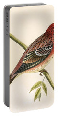 Rosy Bullfinch Portable Battery Charger
