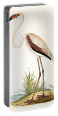 Rosy Flamingo Portable Battery Charger